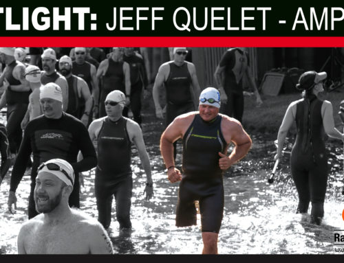 Transfemoral Amputee Jeff Quelet is a long time Racine MultiSports competitor