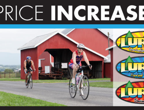 Luray Triathlon – Price Increase at the end of the month