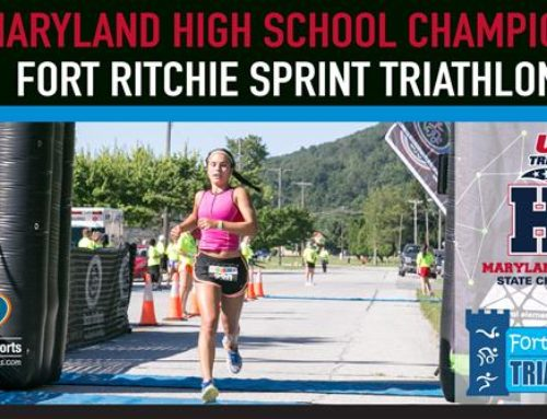 Fort Ritchie Triathlon Chosen as MD High School Championship