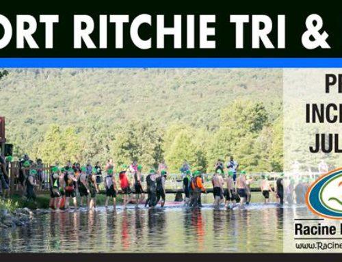 Price Increase Soon – Fort Ritchie Triathlon & Duathlon
