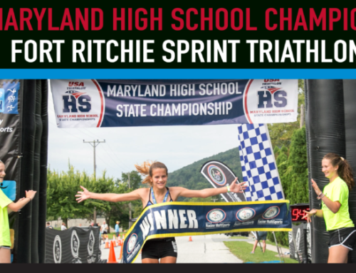 Fort Ritchie Triathlon Chosen Again as MD High School Championship