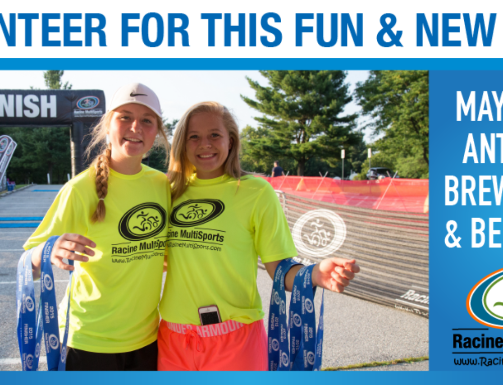 VOLUNTEER FOR THIS FUN & NEW RACE