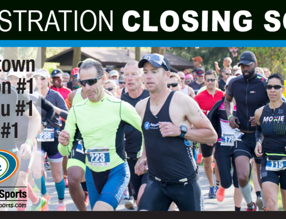 Registration Closing Soon – Hagerstown Duathlon #1, Youth Duathlon #1, & 5K Run #1