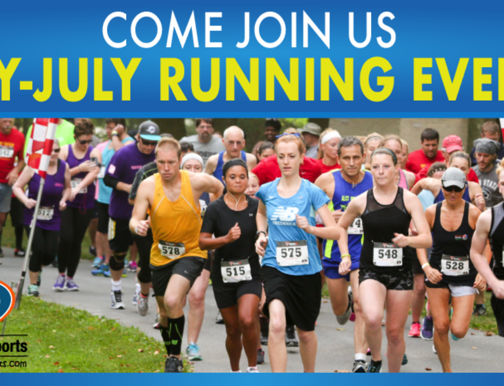 May-July Running Events 2018