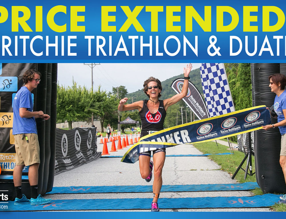 PRICE EXTENDED – Fort Ritchie Triathlon & Duathlon