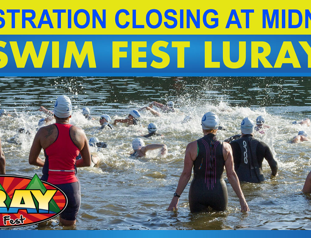Online Registration Closing at Midnight for Swim Fest Luray