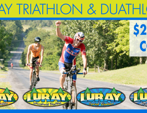 Get $20 Off the Luray Triathlon 2018