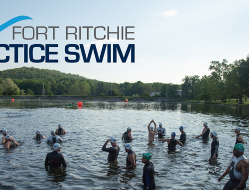 OPEN WATER PRACTICE SWIMS BEGIN AT FORT RITCHIE